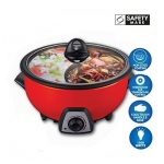 STEAMBOAT & MULTI-COOKER WITH 2 COMPONENTS